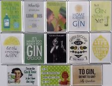 Fridge Magnets Galore! Gin Lovers Collection 100'S Other Designs Available