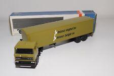 @. LION CAR DAF 2800 TRUCK WITH TRAILER INTEXO VEGHEL BELGIE NEAR MINT BOXED