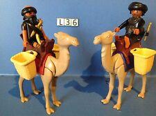 (L36) Playmobil voelurs et dromadaires ref 4247 4240 4241