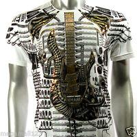 Artful T-Shirt Sz M L XL XXL Tattoo Guitar emo Rock Graffiti bmx Punk Indy AW4