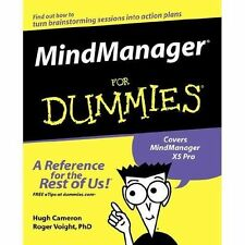 Mindmanager for Dummies (Paperback or Softback)