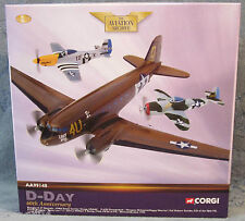 Corgi 3 Planes Douglas C-47 Skytrain-P-47D Thunderbolt-P-51D Mustang 1:144 NEW