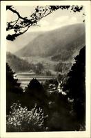 Sitzendorf Schwarzatal DDR Postkarte 1954 gelaufen Blick zum Sorbitztal Panorama
