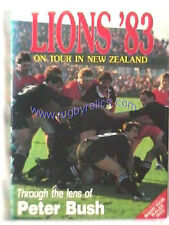 """LIONS '83"" by PETER BUSH LIONS TOUR 1983 RUGBY BOOK PHOTOGRAPHIC HISTORY"