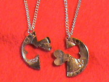 Hand Cut US Quarter plated 24 kt gold with interlocking hearts ring fashion, com