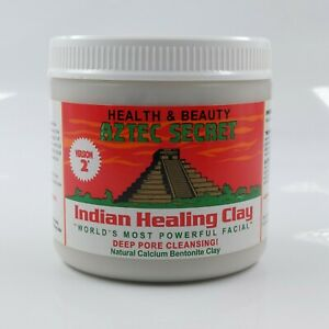 Aztec Secret – Indian Healing Clay 1 lb – Deep Pore Cleansing Facial & Body Mask