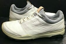 Ecco Biom Hybrid 3 Gortex Golf Shoes - White Black Yak Sz 38 ( 7 us )