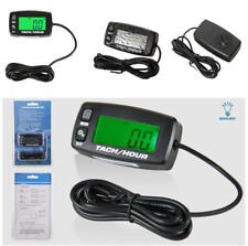 High Accuracy Motorcycle Tachometer Hour Meter Resettable Overspeed RPMs Warning