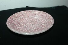 SC MASON'S CRABTREE & EVELYN LONDON SOAP DISH Red Floral LEAVES  Wedgewood VTG