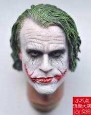 SUPREME 1/6 scale Head Sculpt Joker Heath Ledger 3.0 for hot toys DX11 DX01
