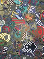 LOT OF (15) Assorted U.S. Military Army Air Force USAF Patches Insignia New NOS