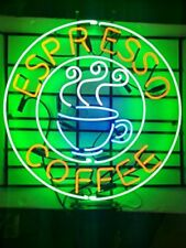 "New Espresso Coffee Open Beer Bar Pub Light Lamp Neon Sign 24"""