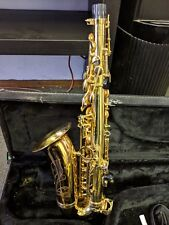 Antigua Winds Alto Sax With Antigua Winds Black Hard Carrying Case.