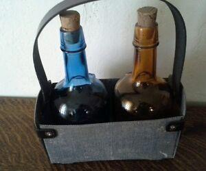 Vintage Durango Denim Rodgers Bro. 1850 Salem NJ  Bottles & Ranch Style Tote