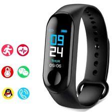 Bluetooth Sport Smart Watch Fitness Touchscreen Heart Rate Tracker Bracelet