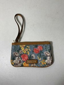 ROSETTI Women's Wallet Colorful Flowery Design Clutch Wallet Nice Condition