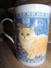 Orange Long Hair Cat Coffee Tea Mug Crown Trent Bone China En 00006000 gland Lesley Anne