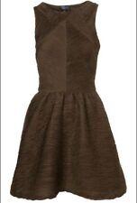 Topshop Textured Sleeveless Skater Dresses for Women