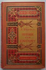 Alphonse Daudet Histoire d'un Enfant Edition Hetzel