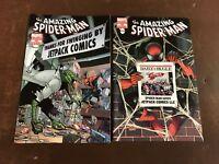 2x AMAZING SPIDERMAN 666;JETPACK COMICS PHOTO VARIANT Marvel Spiderman