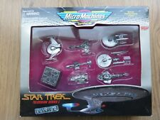 Star Trek Micro Machines Collectors Edition Television Series I Pewter Colour
