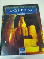 Egipto Dioses Templos y Faraones Volumen I Libro Gran Formato Tapa Dura 1992
