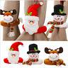 Christmas Santa Claus Snowman Toy Doll Xmas Tree Wrap Topper Decor Ornament Gift