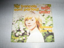 NOELLE CORDIER 45 TOURS FRANCE LES FRANCAIS SONT PARTOU