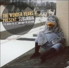 THE WONDER YEARS SUBURBIA I'VE GIVEN YOU ALL AND NOW I'M NOTHING NEW VINYL RECOR