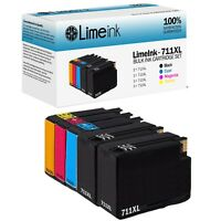 5 Pack Compatible HP 711XL 711 Ink Cartridges for Designjet T120 T520