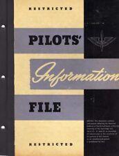 1945 AAF P-38,P-39,P-40,P-47,P-51,B-17,B-24,B-25 PILOT FLIGHT MANUAL HANDBOOK-CD