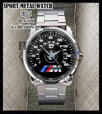 BMW 3 Series M3 M5 F30 335i v328i M Sports Car Stainless Stee Sport Metal Watch