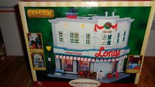 Lemax Longs Corner Store 2006 Lighted Holiday Village Building Christmas Holiday