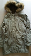 American Eagle Womens Parka Coat Zip Hood M