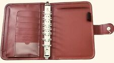 Franklin Covey Day 1 One Red Classic Planner Binder 1 18 Rings 3 Accessories
