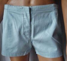 ***PRADA Pantaloni - ORIGINAL SHORTS BY PRADA TG.42 in cotone 100% Inserti pelle