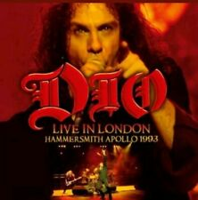 DIO - LIVE IN LONDON: HAMMERSMITH APOLLO 1993 2 CD SET BOOKLET R.I.P. RONNIE DIO
