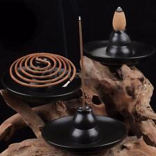 Handmade Ceramic Gourd Incense Burner Holder Censer For Cones & Sticks & Coil
