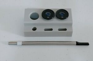 Haag-Streit Style Slit Lamp Accessories 16x Eye Pieces Mint & Tool