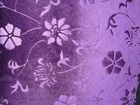 EXTRA LONG Leggings Velvet Embossed Floral Print Black SIZE 6 10 12 18 Tall S M