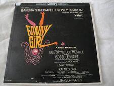 FUNNY GIRL BARBRA STREISAND SYDNEY CHAPLIN VINYL LP ALBUM 1964 CAPITOL RECORDS