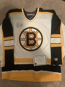 Ray Bourque Front Signed Ccm Boston Bruins Jersey With COA