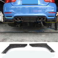 Carbon Fiber Rear Bumper Spoiler Splitter Flaps for BMW F80 M3 F82 F83 M4 15-19