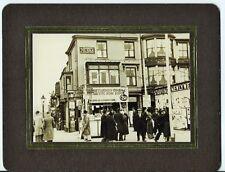GOLDEN MILE PROMENADE BLACKPOOL BRUNSWICK ST 1936  KODAK PICTURE POSTCARD FRAME