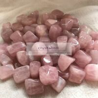 1/4lb Larger particles Bulk Cube Rose quartz Tumbled Stone -Healing Crystals