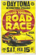 1960's Porsche 904 Race Vintage Advertising Poster 11 x 17 Daytona Beach Florida