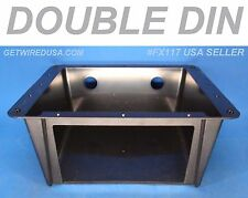 UNIVERSAL STEREO DOUBLE DIN UNDER DASH OVERHEAD RADIO MOUNTING INSTALLATION KIT