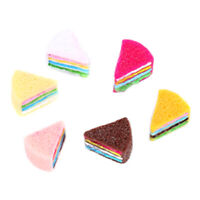 5pcs Colorful Resin Cake DIY Material Phone Shell Accessories Modeling Clay  LD