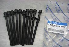 LOT 10 BOULONS VIS DE CULASSE HYUNDAI I20 i20 - 22320-03000QQH 2232003000QQH