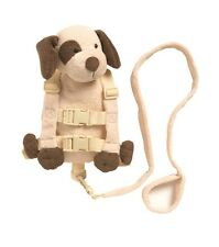 2in1 Harness Buddy Tan Puppy-Make travelling fun & safe...
